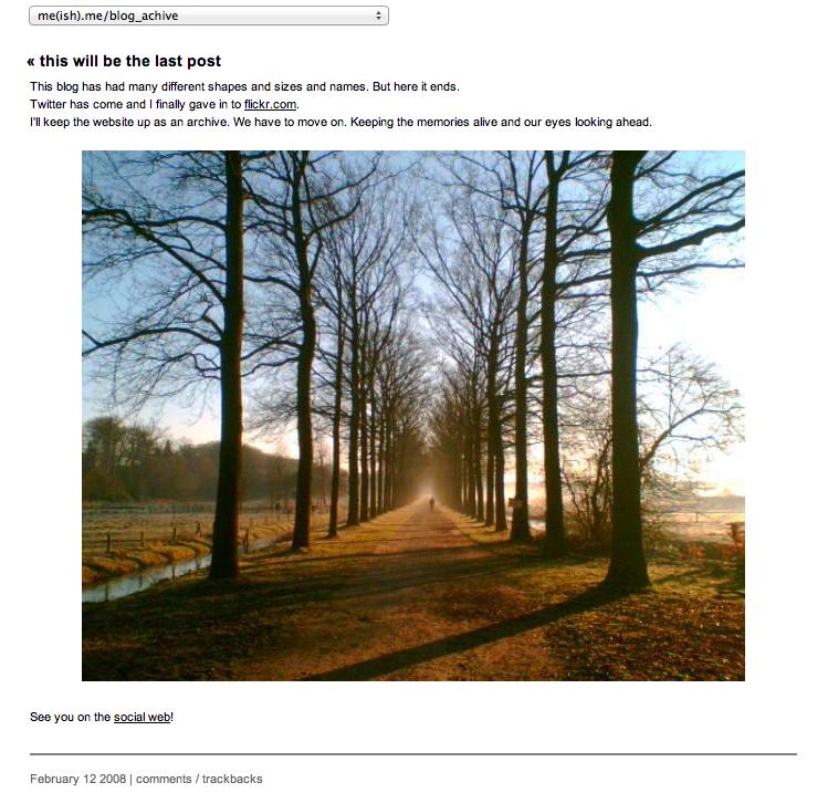 blog tot 12 februari 2008