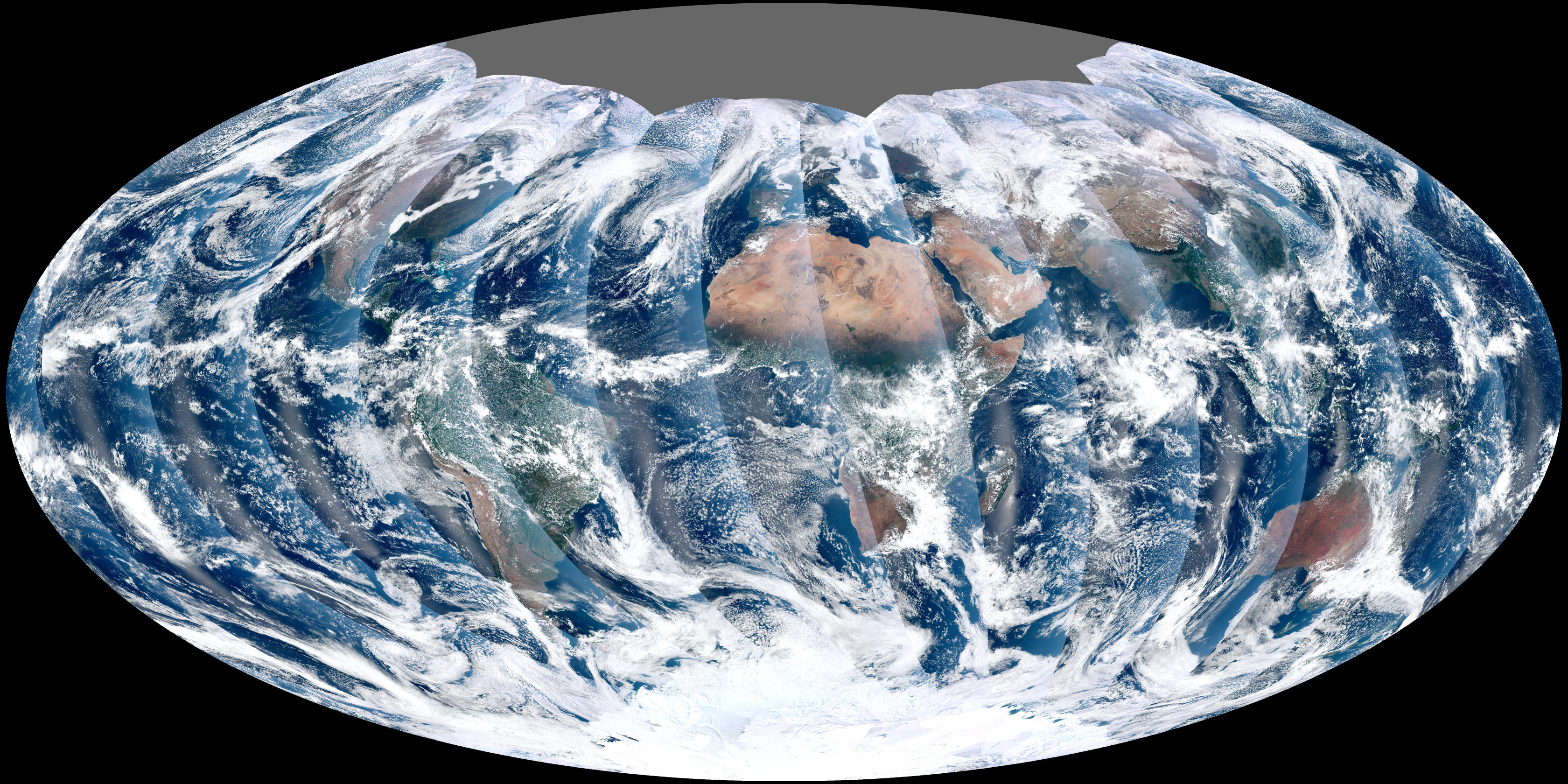 first VIIRS satellite gets a complete view of our planet every day