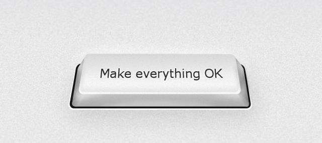 making everything OK