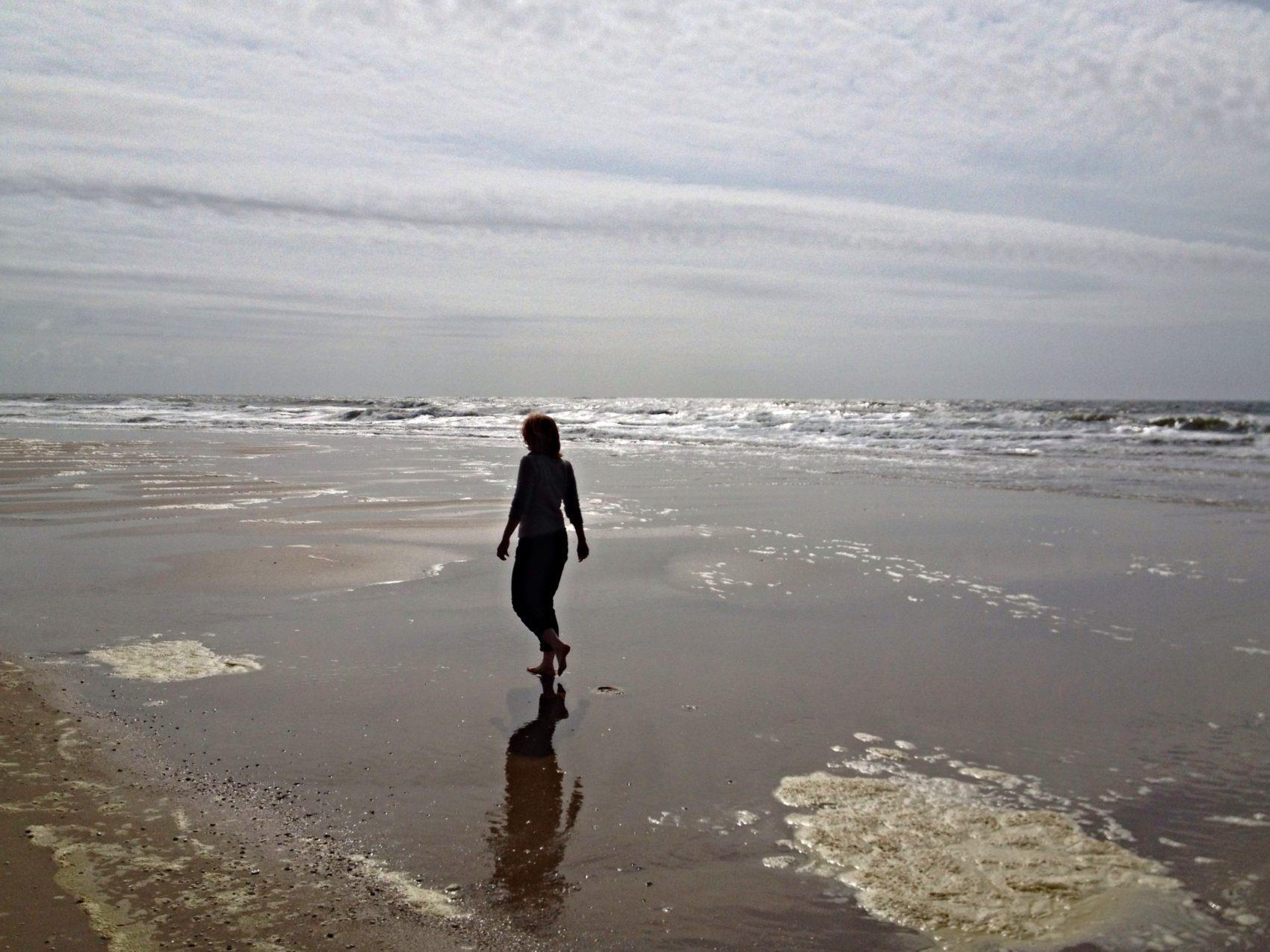 Strandwandeling Texel paal 17-15