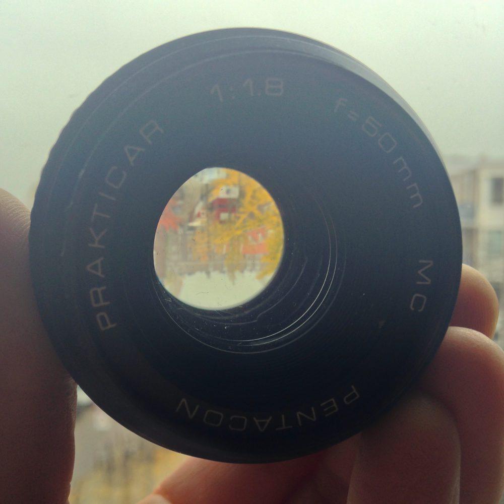 Prakticar 1:1,8 f=50 mm mc Pentacon